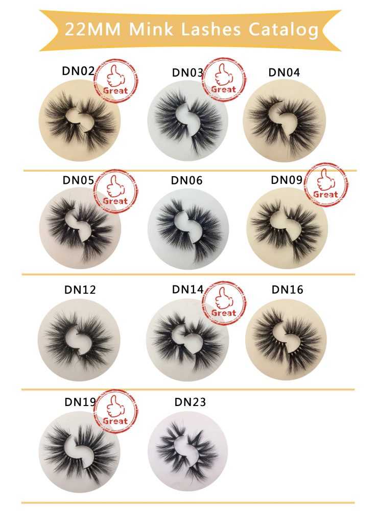 DN Series 22MM Mink Lashes