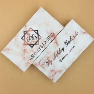 Best Selling and Marble Packaging Printing Logo