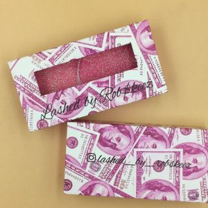 Pink Money Packaging Printing Logo