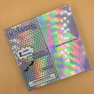 Best Wholesale Holographic Packaging With Window Printing Logo