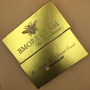 Golden Holographic Custom Eyelash Packaging Printing Logo Wholesale