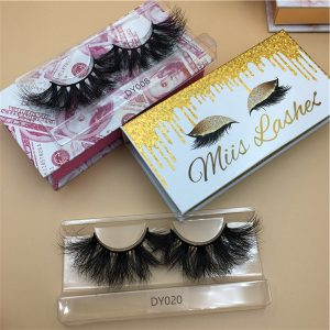 25mm Mink Lashes With Pink Money Box