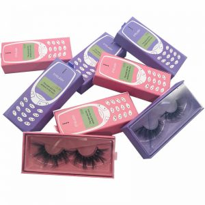 Mink Eyelashes and Eyelash Packaging boxes